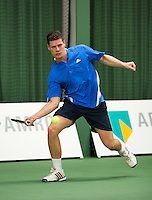 Januari 24, 2015, Rotterdam, ABNAMRO, Supermatch, Rene D' Hooghe<br /> Photo: Tennisimages/Henk Koster