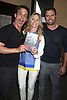 "Christian Jules LeBlanc, Lauralee Bell and Joshua Morrow  attend the book signing of "" The Young & Restless LIfe of William J Bell"" by Michael Maloney and Lee Phillip Bell  on June 21, 2012 at The Barnes & Nobles in The Grove in Los Angeles."