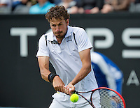 Netherlands, Rosmalen , June 08, 2015, Tennis, Topshelf Open, Autotron, Robin Haase (NED)<br /> Photo: Tennisimages/Henk Koster