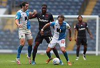 18th July 2020; Ewood Park, Blackburn, Lancashire, England; English Football League Championship Football, Blackburn Rovers versus Reading; Lewis Holtby of Blackburn Rovers wins the ball from Yakou Meite of Reading