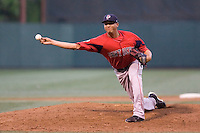 July 15, 2009: Pawtucket Red Sox's Jose Vaquedano pitches during the 2009 Triple-A All-Star Game at PGE Park in Portland, Oregon.