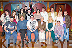 Skye-Dakota Kehoe, Killarney seated centre who celebrated his 21st birthday with his friends and family in the Killarney Avenue Hotel on Friday night.