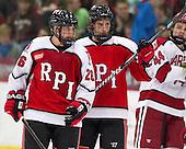 Mark Miller (RPI - 26), Johnny Rogic (RPI - 12) - The Harvard University Crimson defeated the visiting Rensselaer Polytechnic Institute Engineers 4-0 (EN) on Saturday, November 10, 2012, at Bright Hockey Center in Boston, Massachusetts.