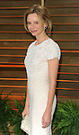 "Calista Flockhart arriving to the ""Vanity Fair Oscar Party 2014"" held in West Hollywood, Ca. on March 2, 2014."