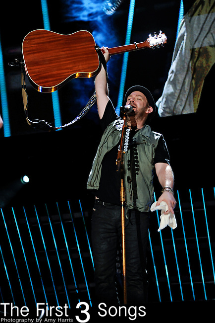 Kristian Bush of Sugarland performs at LP Field during the 2011 CMA Music Festival on June 10, 2011 in Nashville, Tennessee.