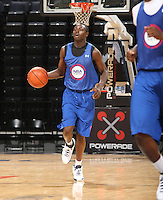 Jerian Grant handles the ball during the 1st day of the 2009 NBPA Top 100 Basketball Camp held Friday June 18, 2009 in Charlottesville, VA. Photo/ Andrew Shurtleff