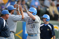 June 5, 2010: Cody Regis of UCLA during NCAA Regional game against LSU at Jackie Robinson Stadium in Los Angeles,CA.  Photo by Larry Goren/Four Seam Images