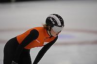 SCHAATSEN: HEERENVEEN: 31-01-2014, IJsstadion Thialf, Training Topsport, Lara van Ruijven, ©foto Martin de Jong