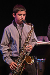 Jazz Arts Academy students perform at their annual summer concert at the Two River Theater in Red Bank, NJ. The Academy is one of the educational programs offered by the nonprofit Jazz Arts Project.