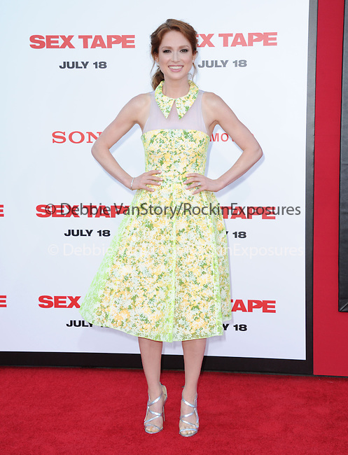 Ellie Kemper attends The L.A. Premiere of Sex Tape held at The Regency Village Theatre  in Westwood, California on July 10,2014                                                                               © 2014 Hollywood Press Agency