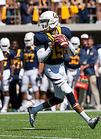 September 1, 2012: California's Zach Maynard runs to look out for his receivers during a game against Nevada at Memorial Stadium, Berkeley, Ca   Nevada defeated California 31 - 24