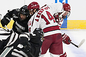 Brandon Duhaime (PC - 9), Alexander Kerfoot (Harvard - 14), Lewis Zerter-Gossage (Harvard - 77) - The Harvard University Crimson defeated the Providence College Friars 3-0 in their NCAA East regional semi-final on Friday, March 24, 2017, at Dunkin' Donuts Center in Providence, Rhode Island.