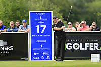 Scott Henry (SCO) tees off the 17th tee during Sunday's Final Round of the Northern Ireland Open 2018 presented by Modest Golf held at Galgorm Castle Golf Club, Ballymena, Northern Ireland. 19th August 2018.<br /> Picture: Eoin Clarke | Golffile<br /> <br /> <br /> All photos usage must carry mandatory copyright credit (&copy; Golffile | Eoin Clarke)