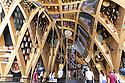 The interior of the French pavilion at Expo 2015, Rho-Pero, Milan in July 2015. &copy; Carlo Cerchioli<br /> <br /> L'interno del padiglione della Francia a Expo 2015, Rho-Pero, Milnao luglio 2015.