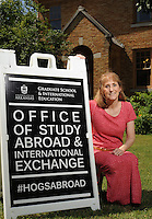 NWA Democrat-Gazette/ANDY SHUPE<br /> DeDe Long is the director of the Study Abroad and International Exchange at the University of Arkansas. Tuesday, June 9, 2015.