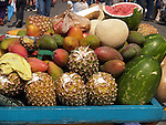 COLORFUL FRUIT IN MEXICAN MARKET