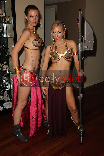 Lindsay Smith, Annette 'belle' Cheney<br /> at the LeiasMetalBikini.com Day at Gentle Giant, Gentle Giant Studios, Burbank, CA. 07-15-11<br /> David Edwards/DailyCeleb.com 818-249-4998