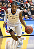 Deron Powers #2 of Hofstra University looks to get to the hoop during an NCAA men's basketball game against Drexel at Mack Sports Complex in Hempstead, NY on Saturday, Feb. 4, 2017.