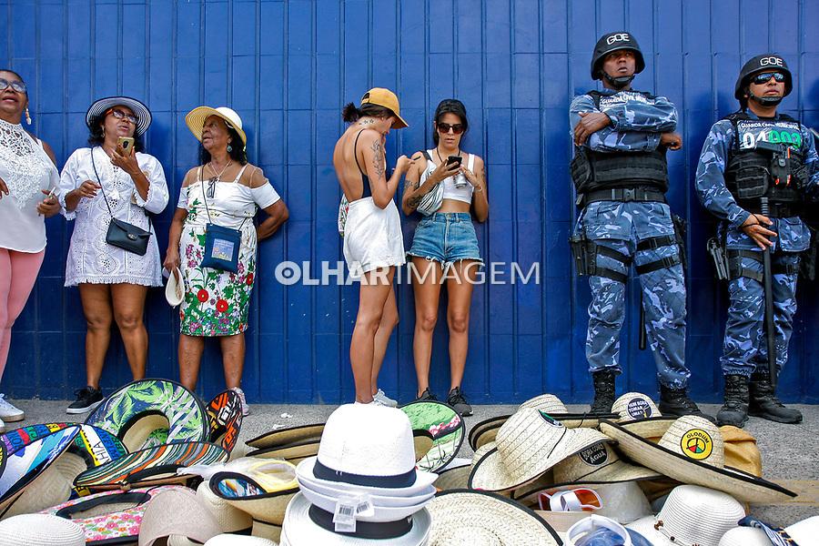 Pessoas na Festa do Bonfim, Salvador. Bahia. 2020. Foto Euler Paixão