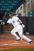 Jackson Generals first baseman D.J. Peterson (33) at bat during a game against the Jacksonville Suns on May 4, 2016 at The Ballpark at Jackson in Jackson, Tennessee.  Jackson defeated Jacksonville 11-6.  (Mike Janes/Four Seam Images)