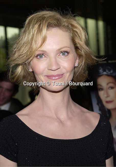 Joan Allen arriving at the premiere of Mist of Avalon at the Director Guild of America in Los Angeles. The Mist of Avalon is the legendary story of Camelot seen through the eyes of the women who wielded power behind King Arthur throne. June 25, 2001AllenJoan10.jpg