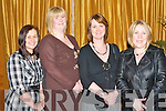 HOSPITAL SOCIAL: Kathleen Finnegan, Cara Flahive, Catherine Walsh and Anne Walsh enjoying the Bons Secours Hospital social at the Ballygarry House Hotel and Spa on Saturday..