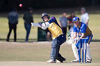 Jamie Porter of Essex goes long during Upminster CC vs Essex CCC, Benefit Match Cricket at Upminster Park on 8th September 2019
