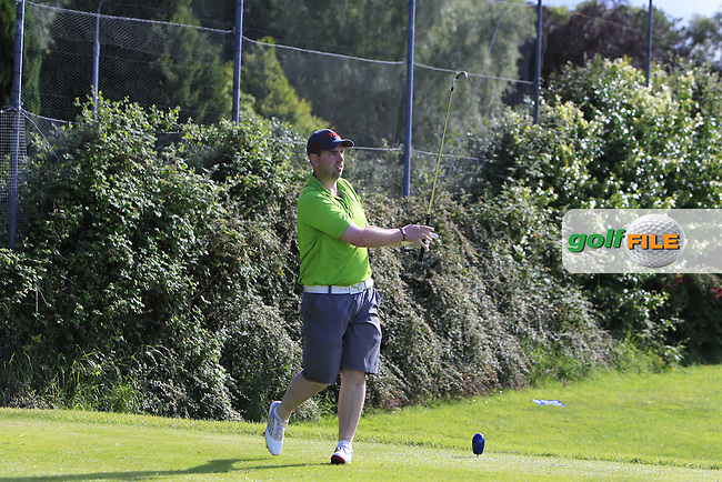 Thomas O'Connor (Athlone) on the 18th tee during Round 4 of the 2016 Connacht Strokeplay Championship at Athlone Golf Club on Sunday 12th June 2016.<br /> Picture:  Golffile | Thos Caffrey