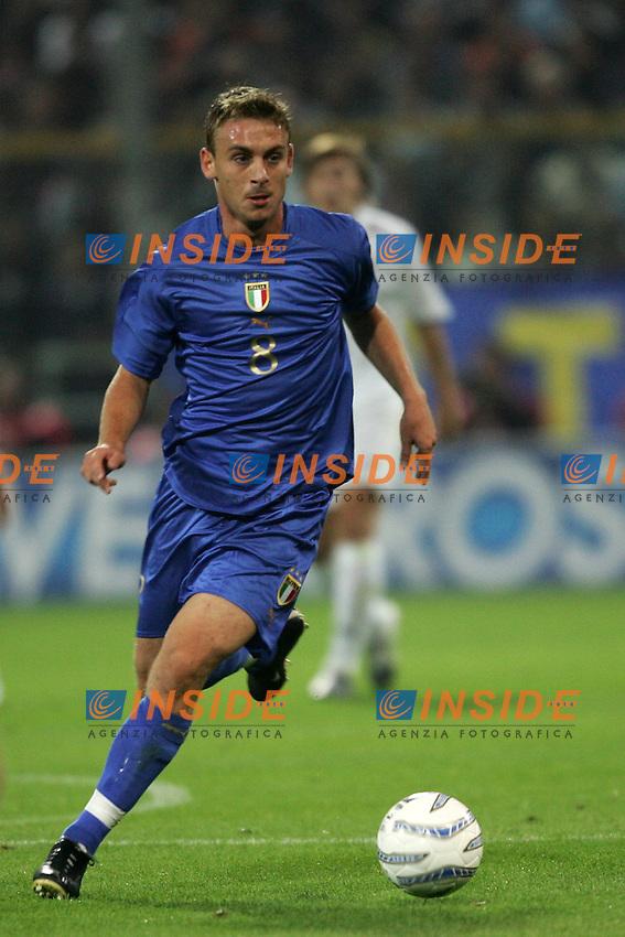 Parma 13/10/2004 World Cup Germany 2006 Qualifying <br /> Italia Bielorussia Italy Belarus 4-3 <br /> Daniele De Rossi Italy<br /> Photo Insidefoto