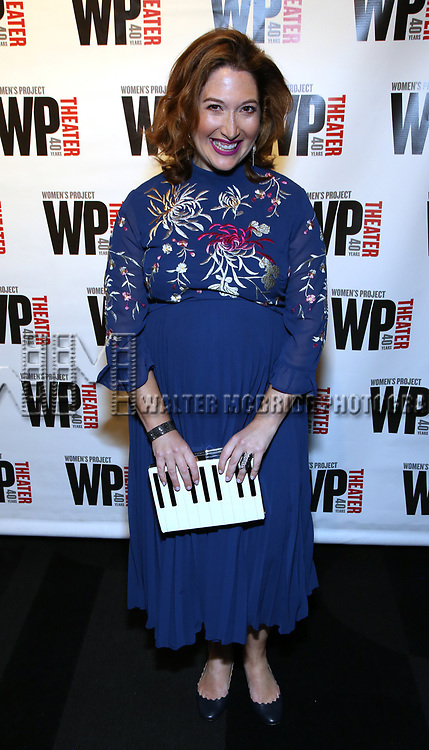 Randi Zuckerberg attends the WP Theater's 40th Anniversary Gala -  Women of Achievement Awards at the Edison Hotel on April 15, 2019  in New York City.