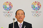 Toshiro Muto, JANUARY 24, 2014 : Tokyo Organising Committeee of the Olympic and Paralympic Games member attend press conference in Tokyo, Japan. The Tokyo Organising Committee of the Olympic and Paralympic Games (Tokyo 2020) was formally established today and will be headed by former Prime Minister of japan Yoshiro Mori.  Photo by Yusuke Nakansihi/AFLO SPORT) [1090]