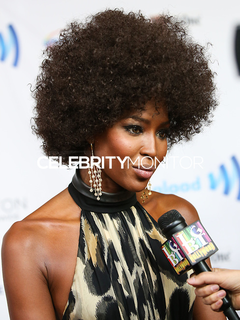 BEVERLY HILLS, CA, USA - APRIL 12: Naomi Campbell arrives at the 25th Annual GLAAD Media Awards held at The Beverly Hilton Hotel on April 12, 2014 in Beverly Hills, California, United States. (Photo by Xavier Collin/Celebrity Monitor)
