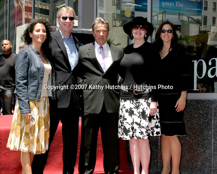 CBS Executives and Eric Braeden.Eric Braeden receives a star on the .Hollywood Walk of Fame.Los Angeles, CA.July 20, 2007.©2007 Kathy Hutchins / Hutchins Photo....