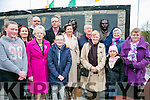 Unveiling of Wall of Remembrance for the The Ballykissane Tragedy Good Friday 1916 in Killorglin on Friday. Pictured Front l-r  Natalie Cunningham, Teresa Cunningham, Eileen Murphy, Cathal Murphy, Marian McCashen and  Maya Cunningham. Back l-r  Sheila Cunningham, Sr Beatrice, Sean McCashen, Trish Cunningham, Tim Cunningham and Tom Cunningham