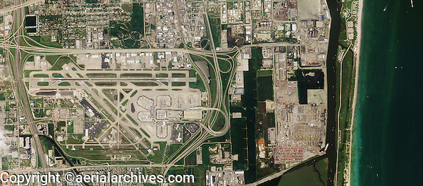aerial photograph Fort Lauderdale Hollywood International airport FLL