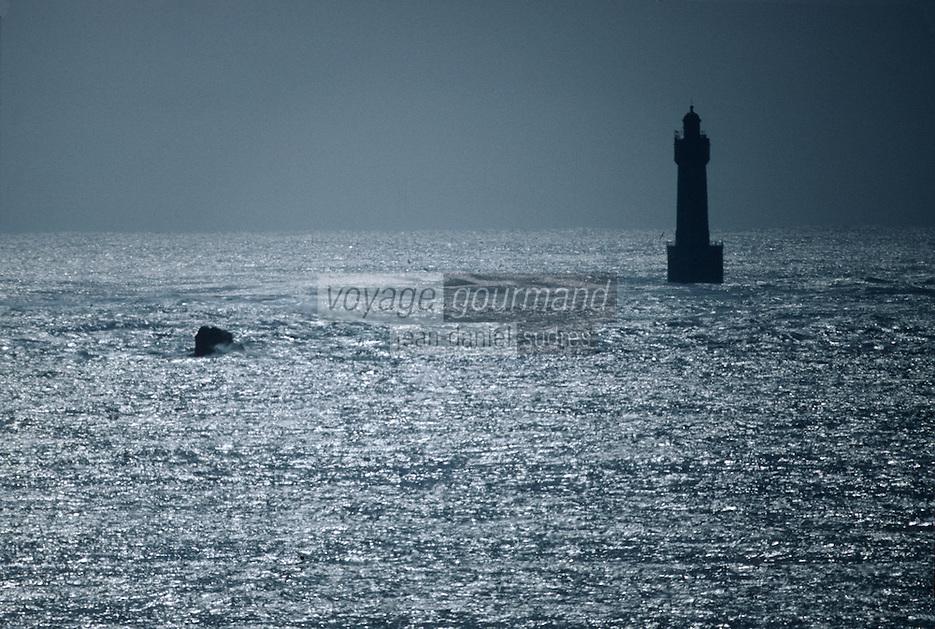 Europe/France/Bretagne/29/Finistère/Ile d'Ouessant: Le phare Nividic