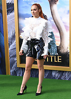 """11 January 2020 - Westwood, California - Becky Lynch. Premiere Of Universal Pictures' """"Dolittle"""" held at the Regency Village Theatre. Photo Credit: Billy Bennight/AdMedia"""
