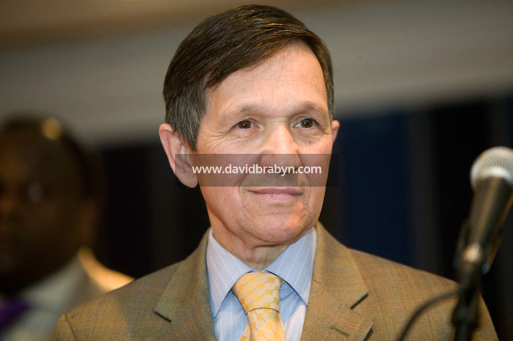 21 April 2007 - New York City, NY - Democratic presidential hopeful congressman Dennis Kucinich delivers a speech to the 9th Annual National Action Network Convention in New York City, USA, April 2007.