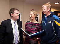 Peter Breen, author, Deirdre Ryan and Leo Cullen