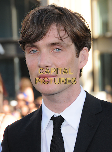 CILLIAN MURPHY .at the Warner Bros. Film Premiere of 'Inception' held at The Grauman's Chinese Theatre in Hollywood, California, USA, July 13th 2010..portrait headshot tie white shirt black .CAP/RKE/DVS.©DVS/RockinExposures/Capital Pictures.