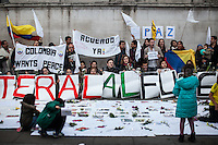 "12.10.2016 - ""3ra Marcha del Silencio - Londres"" - Colombian Demonstration"