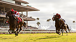 AUG 17: Cambier Parc with John Velazquez aboard wins the Del Mar Oaks at The Del Mar Thoroughbred Club in Del Mar, California on August 17, 2019. Evers/Eclipse Sportswire/CSM