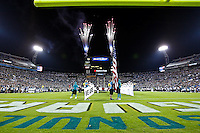 October 24, 2011:  Pre game fireworks before the start of action between the Jacksonville Jaguars and the Baltimore Ravens played at EverBank Field in Jacksonville, Florida.  ........