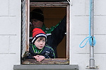 30/1/2016   A young St. Colman's College supporter watches on during the game. St. Colman's College v Ard Scoil Ris, Harty Cup Semi-Final, Killmallock, Co. Limerick <br /> Picture Credit: Gareth Williams /  Press 22
