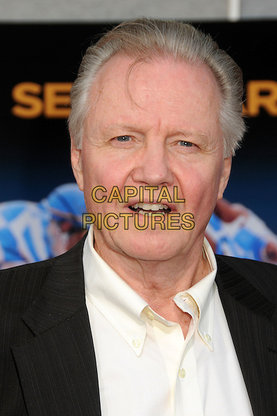 "JON VOIGHT .""Secretariat"" World Premiere held at the El Capitan Theatre, Hollywood, California, USA, .30th September 2010..portrait headshot white shirt black mouth open grey gray .CAP/ADM/BP.©Byron Purvis/AdMedia/Capital Pictures."