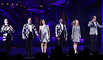 "Ensemble Cast during the Broadway Opening Night Performance Curtain Call for ""Beetlejuice"" at The Winter Garden on April 25, 2019 in New York City."