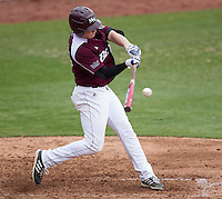 Tate Matheny (26) of the Missouri State Bears bats during a game against the Northwestern Wildcats at Hammons Field on March 9, 2013 in Springfield, Missouri. (David Welker/Four Seam Images)
