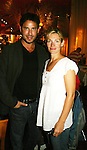 Beth Ehlers and Ricky Paull Goldin as GL's Harley and Gus held a fan gathering to thank the fans for their years of watching them and Guiding Light on September 27, 2008 at Kellar Taverna, New York City, New York. They are now on AMC as Taylor and Dr. Jake Martin. There were so many fans there. (Photo by Sue Coflin/Max Photos)