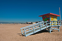 Beach, Lifeguard, Stations, Summer of Color, exhibit, Lifeguard, Towers, Portraits of Hope, Geometric, shapes,