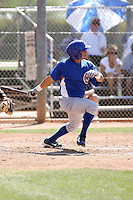 Alvaro Ramirez, Chicago Cubs minor league spring training..Photo by:  Bill Mitchell/Four Seam Images.